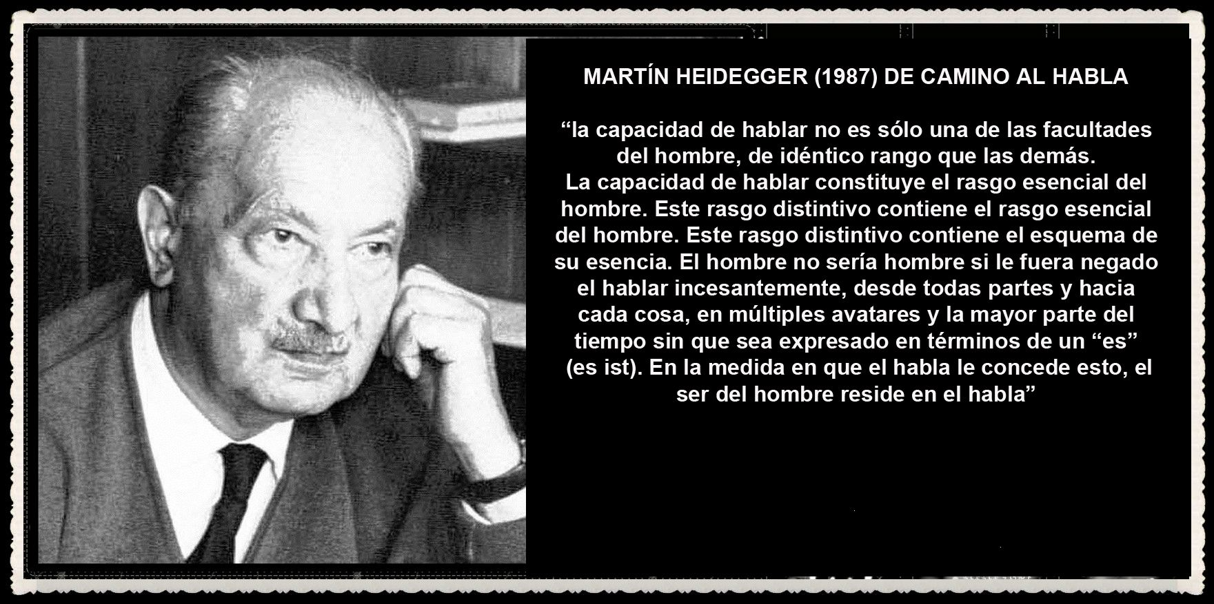 Martin Heidegger Martin Heidegger Frases Blog