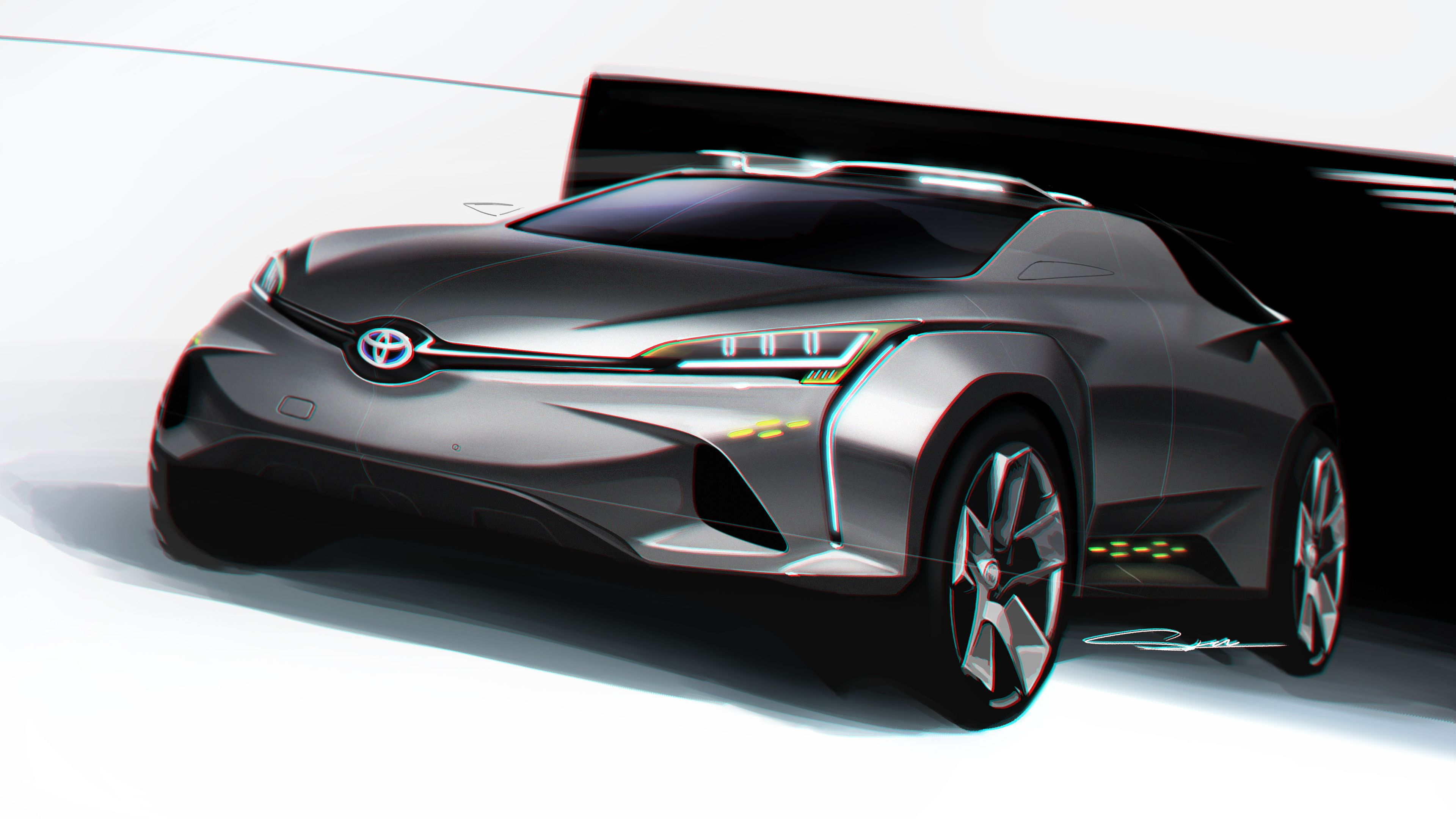 Cuv Car Toyota Cuv Concept Design Car Design Sketch Motorcycle Design