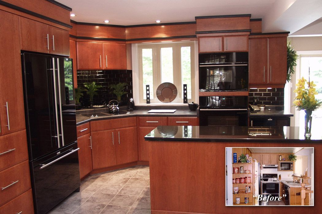 10x10 kitchen design with pantry 10x10 kitchen design for Open kitchen designs photo gallery