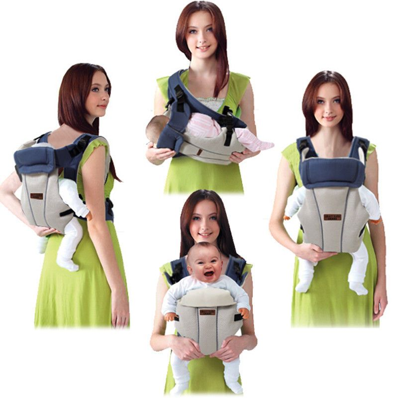 Baby Carrier 2 30 Months Breathable Multifunctional Front Facing Kangaroo Baby Babies Kid Girl Boy Carrier Canguru Para Bebe Canguru Carregadores De Bebe