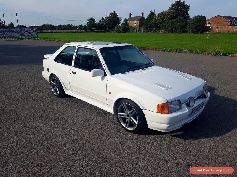 1989 Ford Escort RS Turbo S2 no reserve subtly modified tuned ...