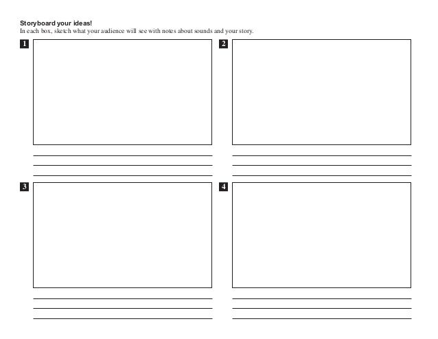 storyboard template - Google Search Language Arts Pinterest - media storyboard template
