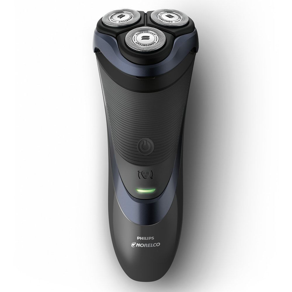 Philips Norelco Electric Shaver 3700 With Comfortcut Blades Black