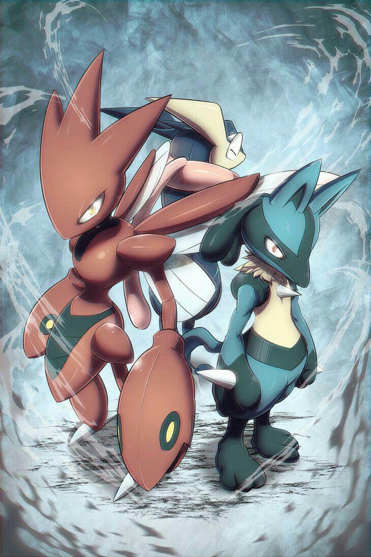 They remind me of sasuke scizor naruto lucario and kakashi