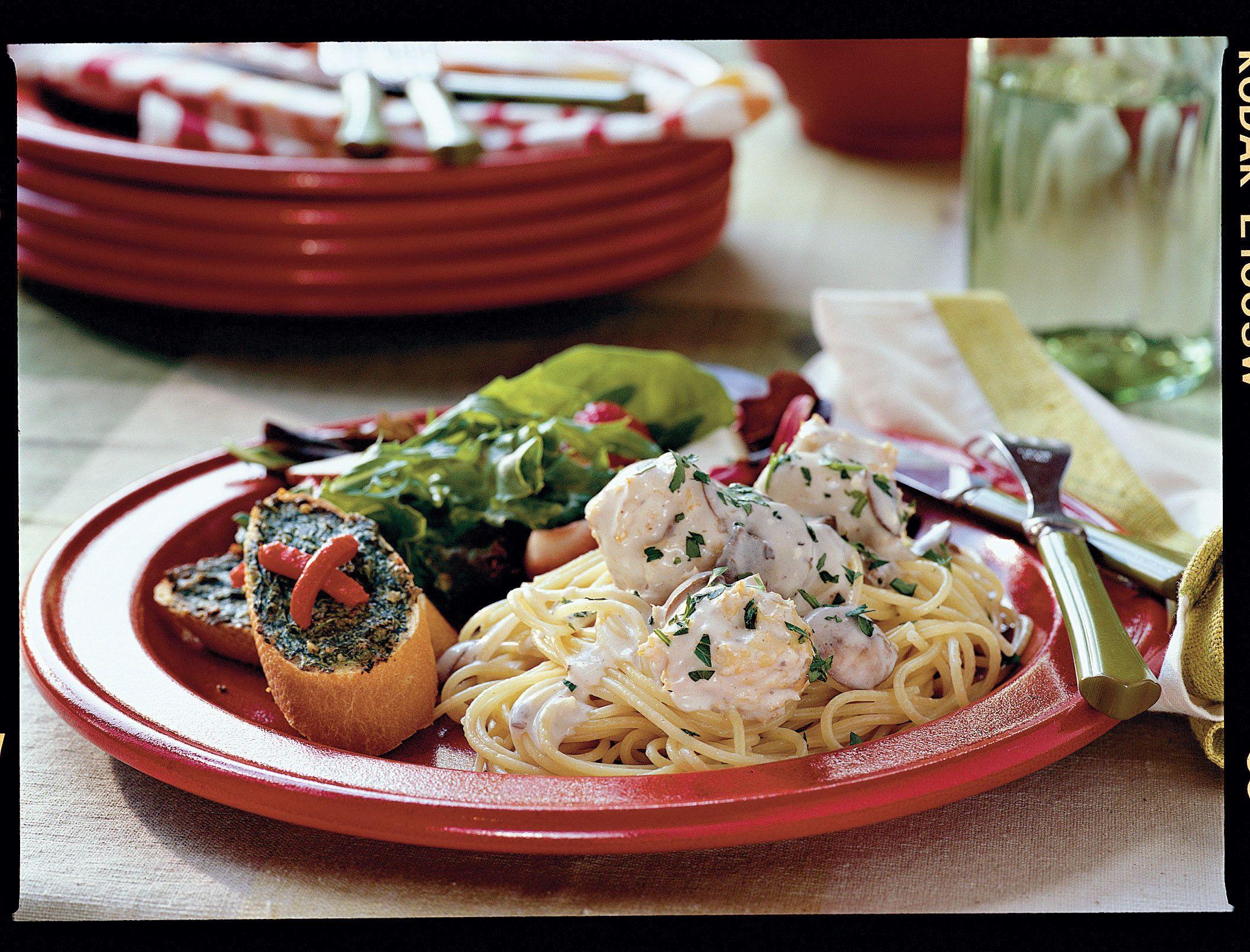 Light Spaghetti Supper