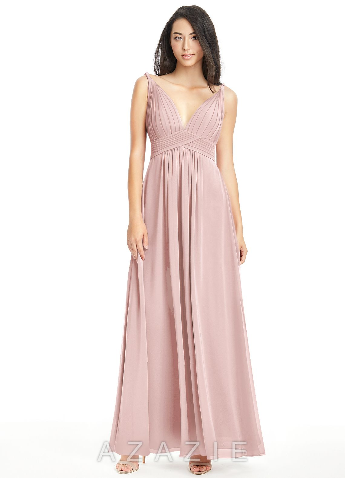 MAREN - Bridesmaid Dress | Dusty rose, Bridal parties and Wedding