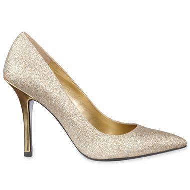 Worthington Maggie Womens Glitter Pumps Jcpenney Fashion Shoes Glitter Pumps Wedding Shoes
