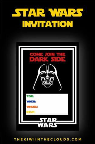 Lego Star Wars Party Invitations Printable Free Google Search Star Wars Invitations Star Wars Birthday Invitation Star Wars Party
