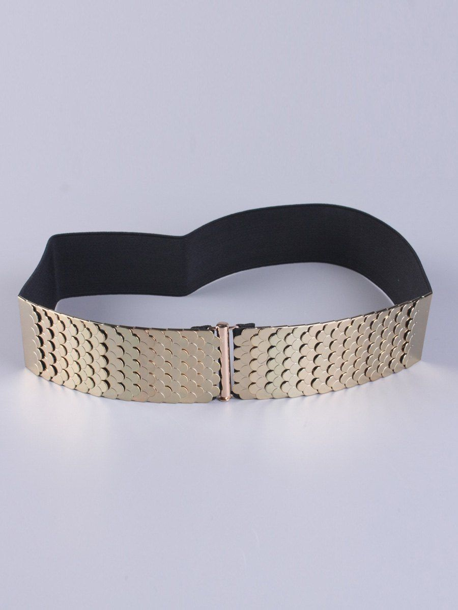 Coat Wear Disc Buckle Stretch Belt #women, #men, #hats, #watches, #belts, #fashion, #style