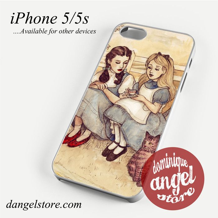 Dorothy and Alice Phone case for iPhone 4/4s/5/5c/5s/6/6 plus
