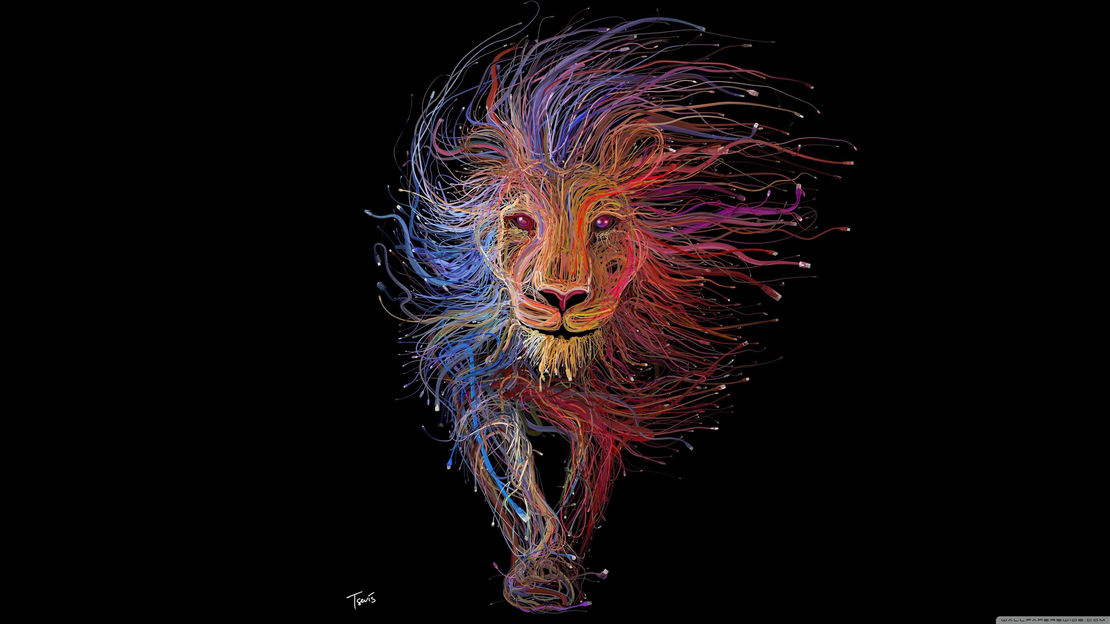 Ultra Hd 32k Wallpapers 1662220 In 2019 Lion Illustration
