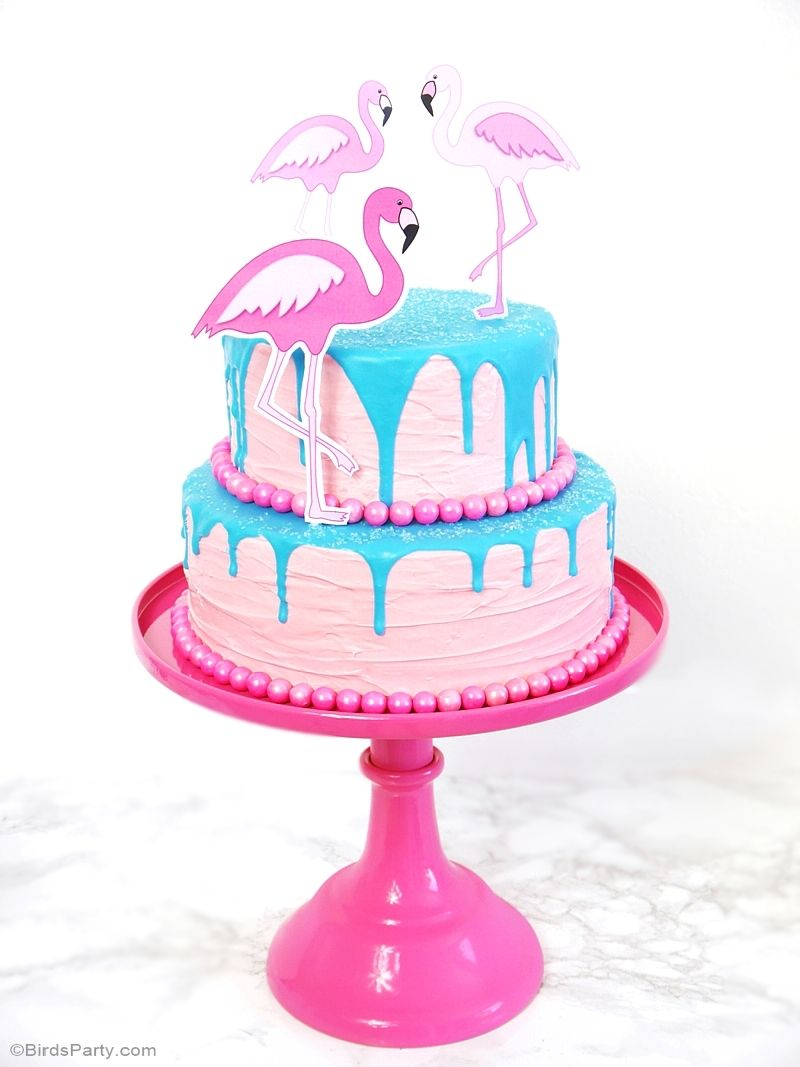 recette g teau drip cake flamant rose baby shower drip. Black Bedroom Furniture Sets. Home Design Ideas