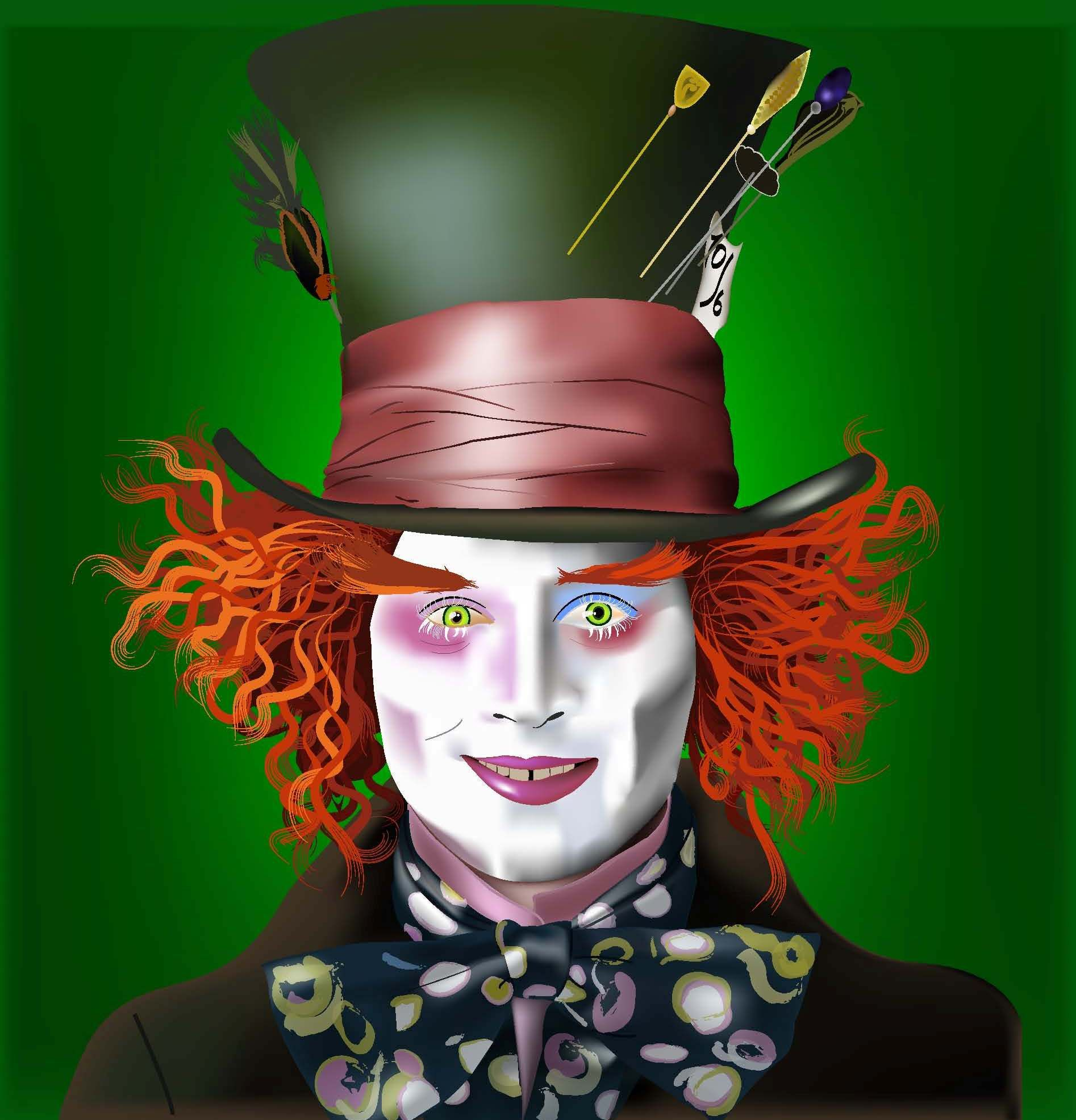 mad hatter make up | Halloween Ideas | Pinterest