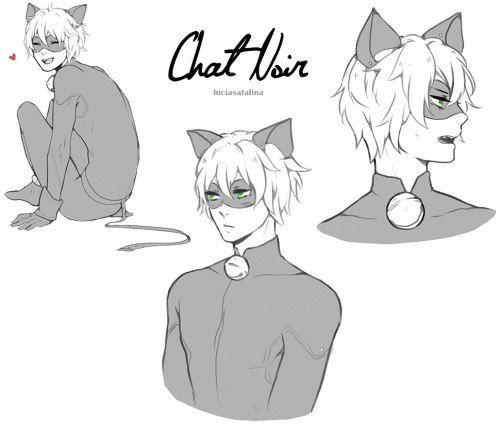 Chat Noir, manga-style~ (Miraculous Ladybug)