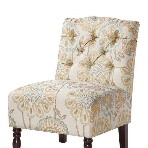 Mi-Zone Madison Park Lola Tufted Slipper Chair