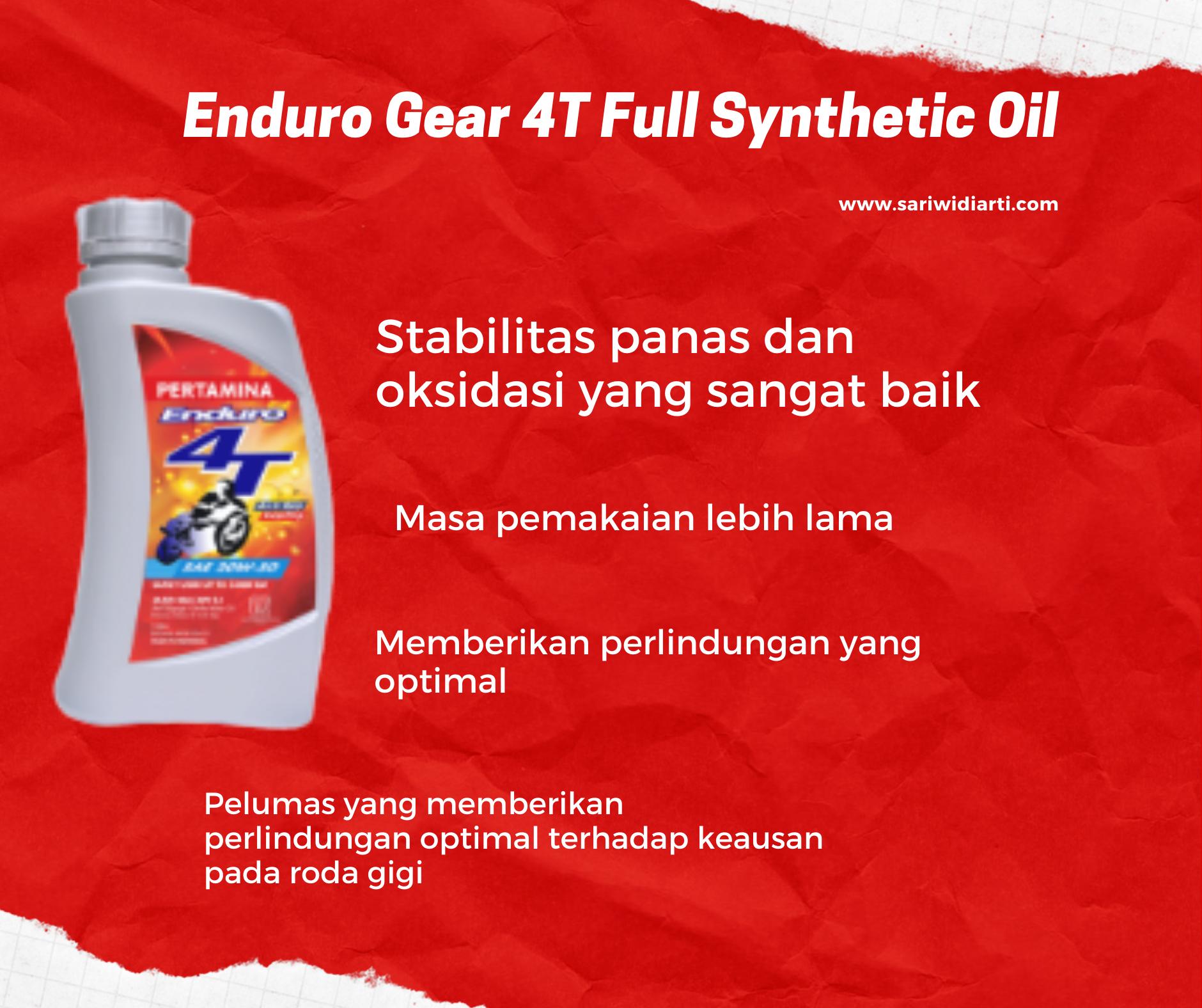 Enduro Gear 4T Full Synthetic Oil
