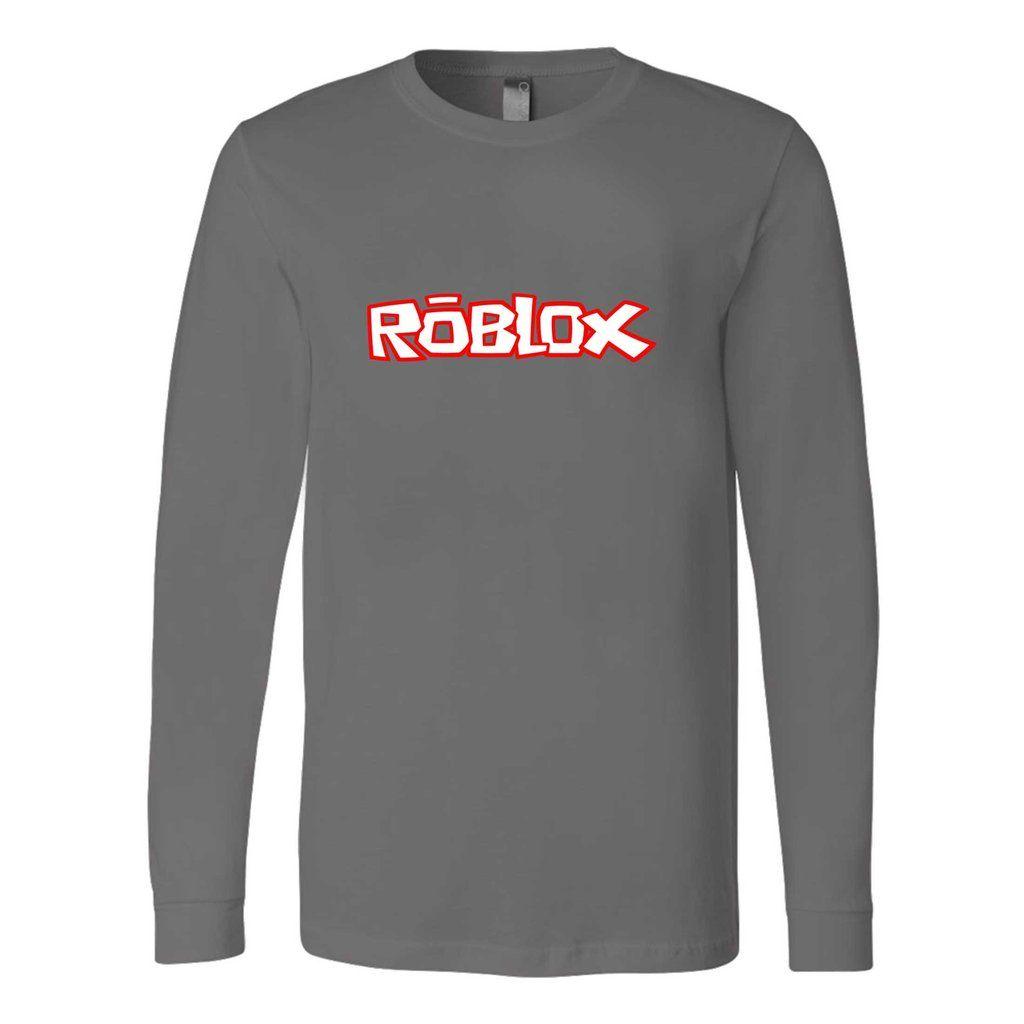 Roblox Player Gamer Wii Xbox Ps4 Fan Bro Viral Long Sleeve T Shirt
