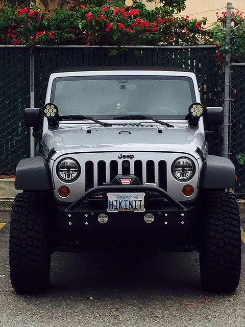 Quadratec 6 Leds To Spod Jeep Wrangler Forum Jeep Wrangler