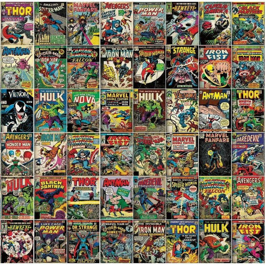 Marvel Comic Cover Peel And Stick Mural In 2020 Marvel Comics Covers Marvel Comic Books Marvel Comics Artwork
