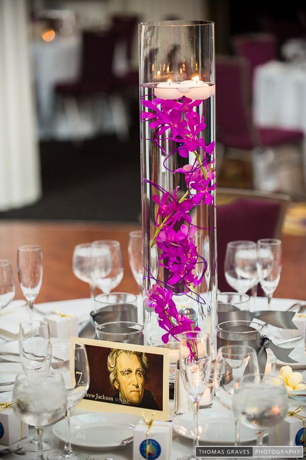 Submerged mokara pink orchids in cylinder vases i don t
