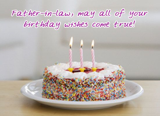free downloadable birthday greetings for father in law Google