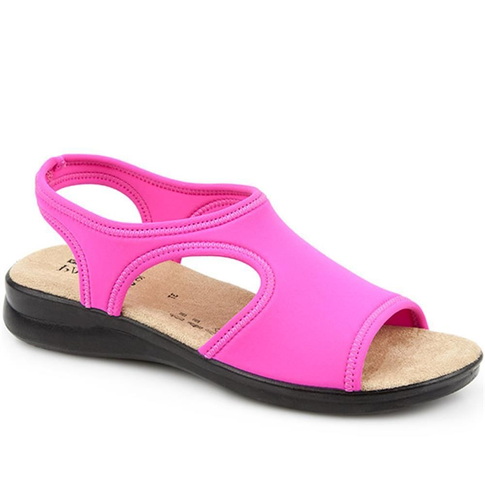 fa9758b0c9b51d Be noticed for your stylish shoes not your bunions! Stretch Sandals  (POLY25000) by