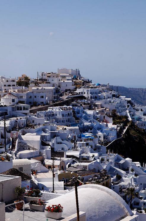 Santorini, Santorini Miracle - uma ilha num mar de azul .. Discussão sobre LiveInternet - Serviço russo diários on-line