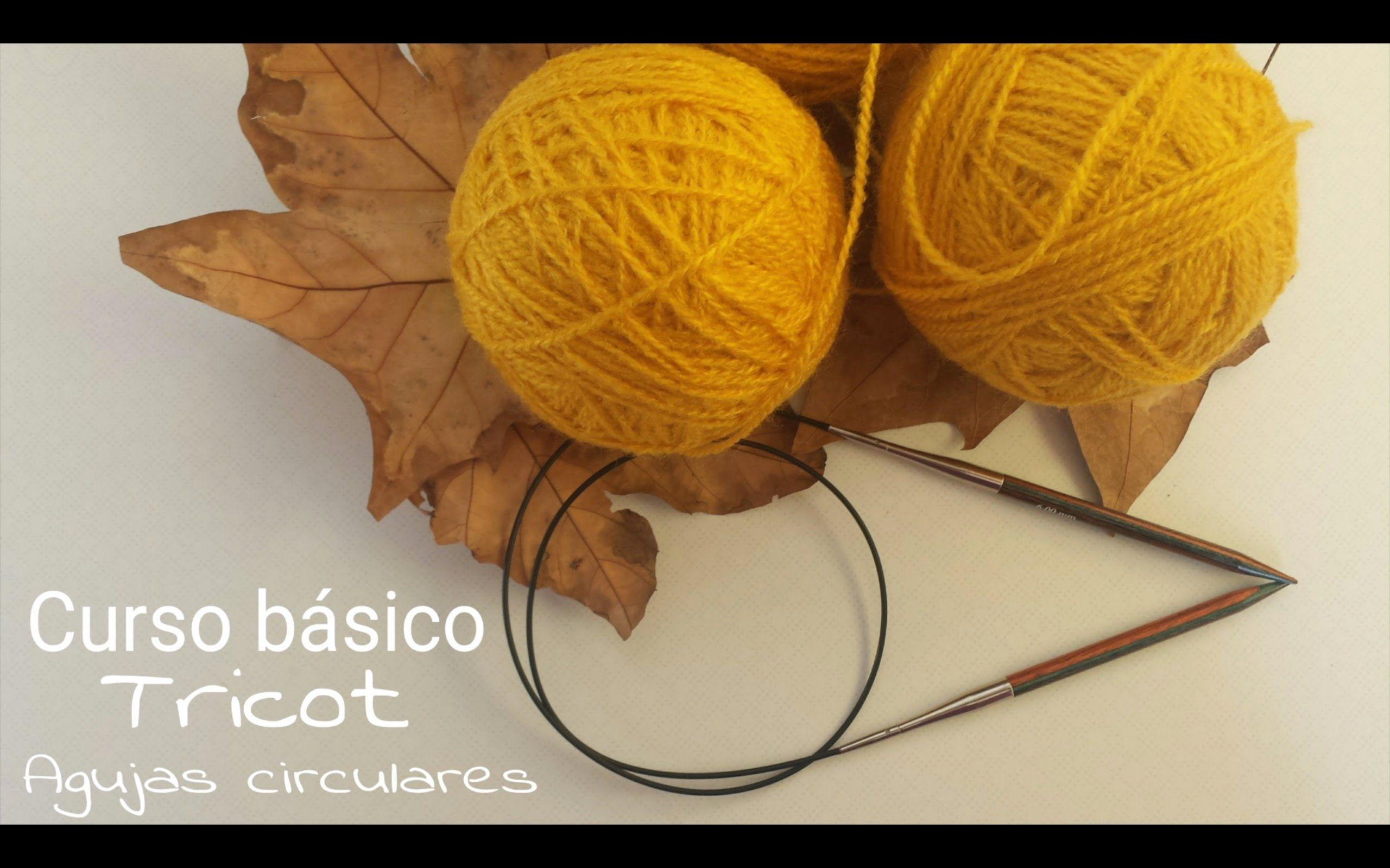 Técnica básica I Agujas circulares - Tricot I cucaditasdesaluta ...