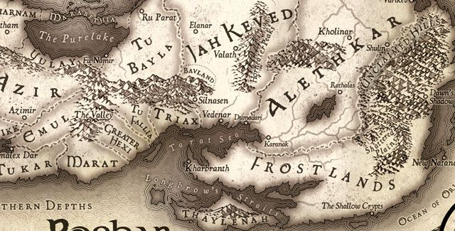 stormlight archive world map Why Yes Yes I Do Love The Stormlight Archives Http