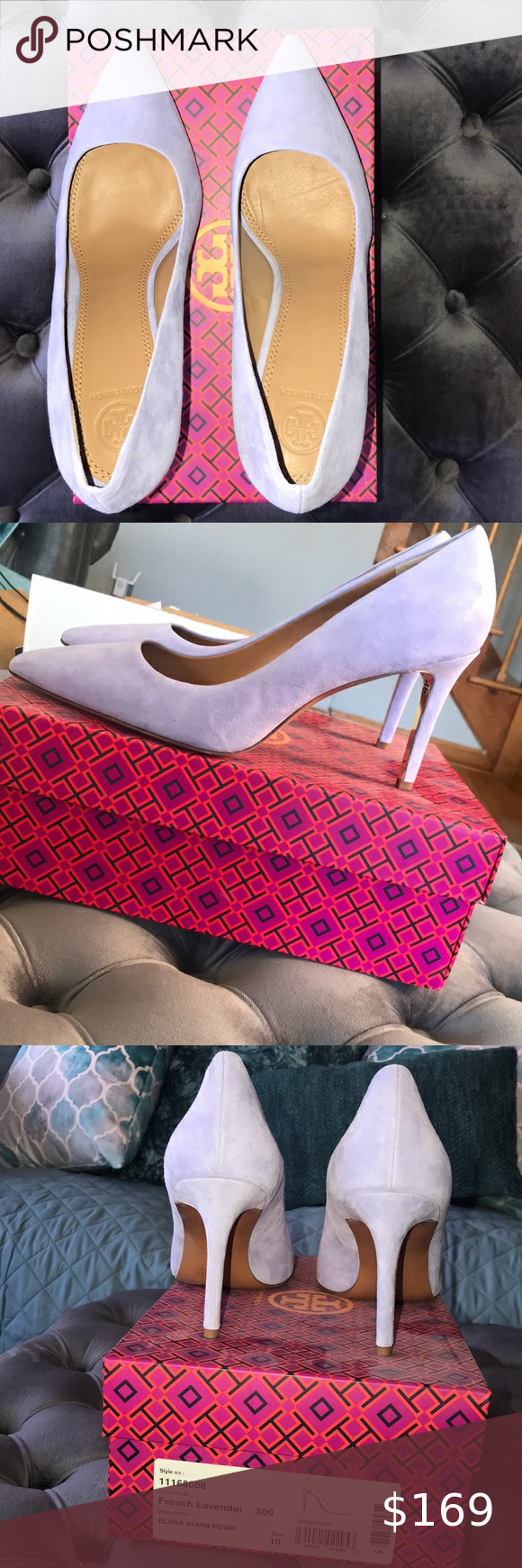 Christian Louboutin 80% OFF!>> Tory Burch Heels Tory Burch Elana French Lavender suede Pumps. Never worn. Runs true to size 100% leather Upper🦋 Tory Burch Shoes Heels #ChristianLouboutin #heels #shoes #style #Accessories #shopping #styles #outfit #pretty #girl #girls #beauty #beautiful #me #cute #stylish #design #fashion #outfits #diy #design