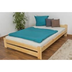 Reduced solid wood beds