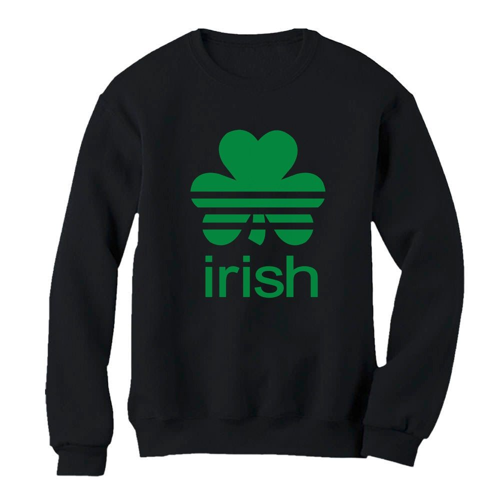 Tstars Patricks Day Funny Women Sweatshirt Here to Paddy St