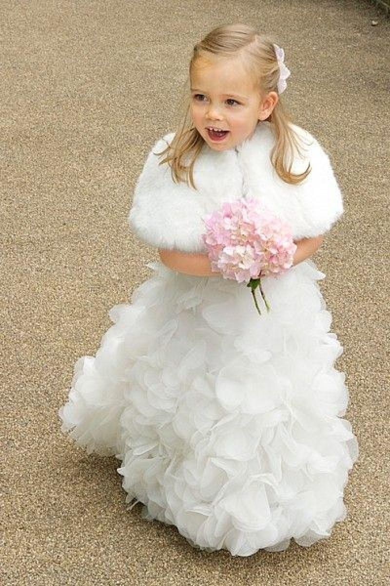 Best Flower Girl Dresses For Winter Wedding Wedding