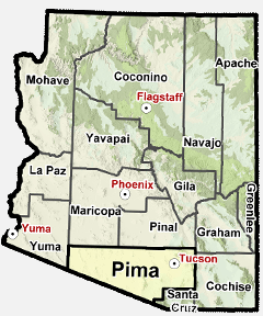 Map Of Tucson Arizona Zip Codes.Pima County Az Map Radwe Service The Following Tucson Arizona Area