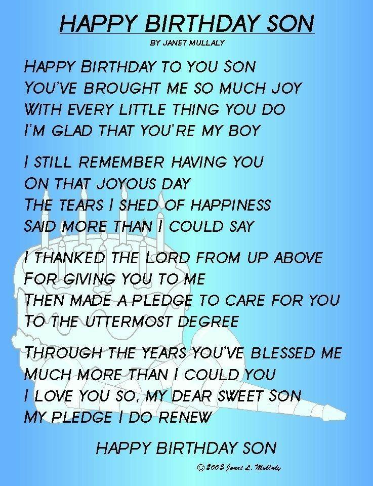 Happy Birthday My Baby Boy Mama Dada Loves You So Much I Hope