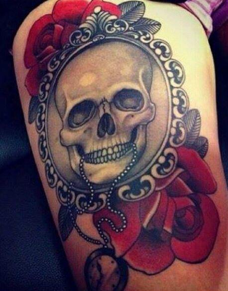 #tattoo #skull #my #dream