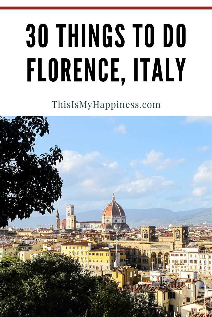 30 Things To Do In Florence Italy Florence Travel Guide Florence Travel Italy