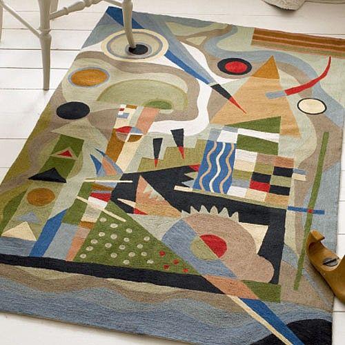 Kandinsky Rug Home Decor