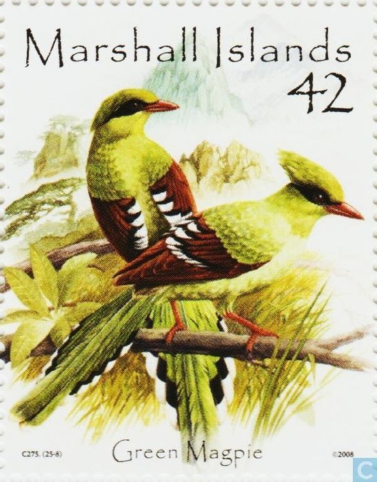 Timbres-poste - Îles Marshall - Oiseaux