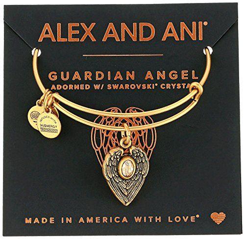 Alex And Ani Path Of Symbols Guardian Angel Expandable Wire Bangle