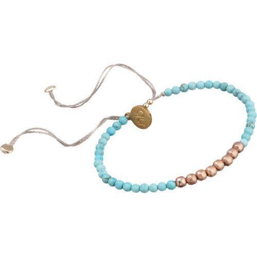 Nikki B Turquoise Rose Gold Bead 8800 Fashion Items I love