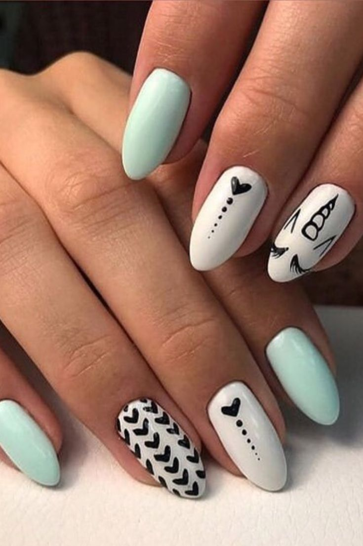 Best Summer Nail Designs - 35 Colorful Nail Ideas You Can Do It Yourself At Home New 2019 - Page 5 of 35 #summernails
