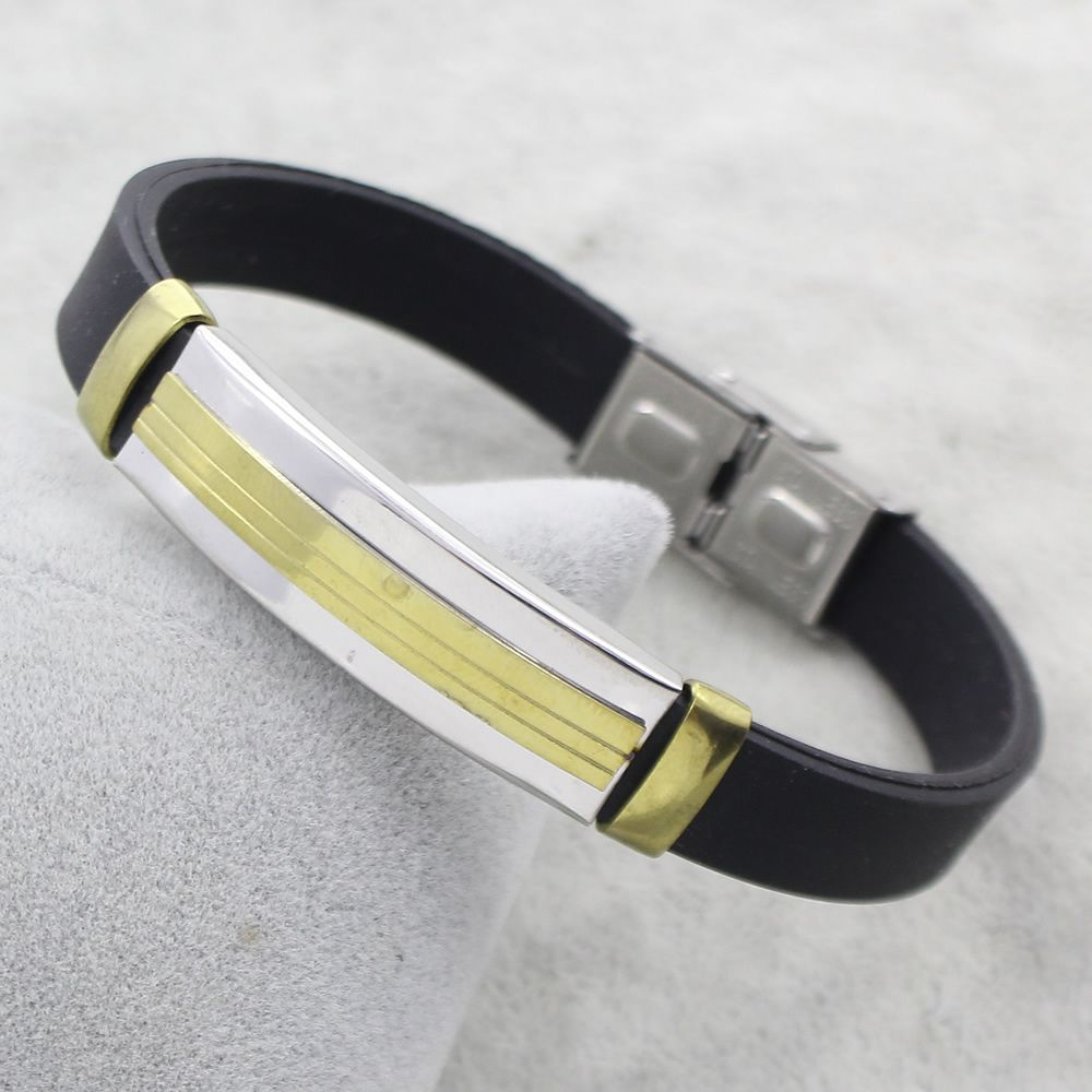 YYW Stainless Steel Jewelry Bracelet designers for men with