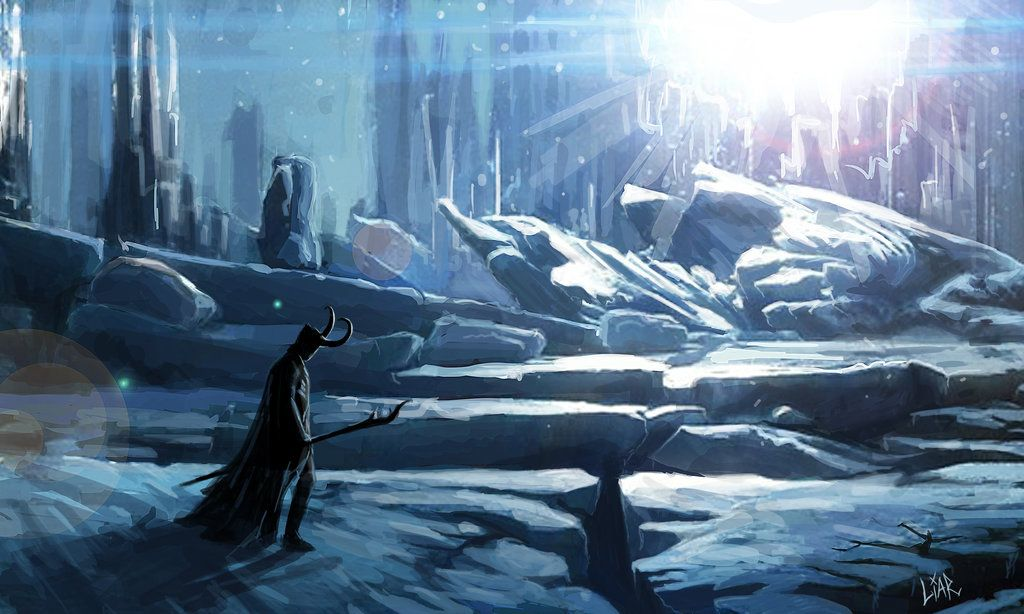 Escaped to Jotunheim by MisterLIAR