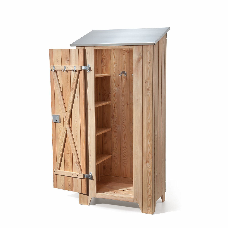 Garden Cupboard Made Of Larch Manufactum Garden Cupboard Garden Tool Storage Garden Tool Shed