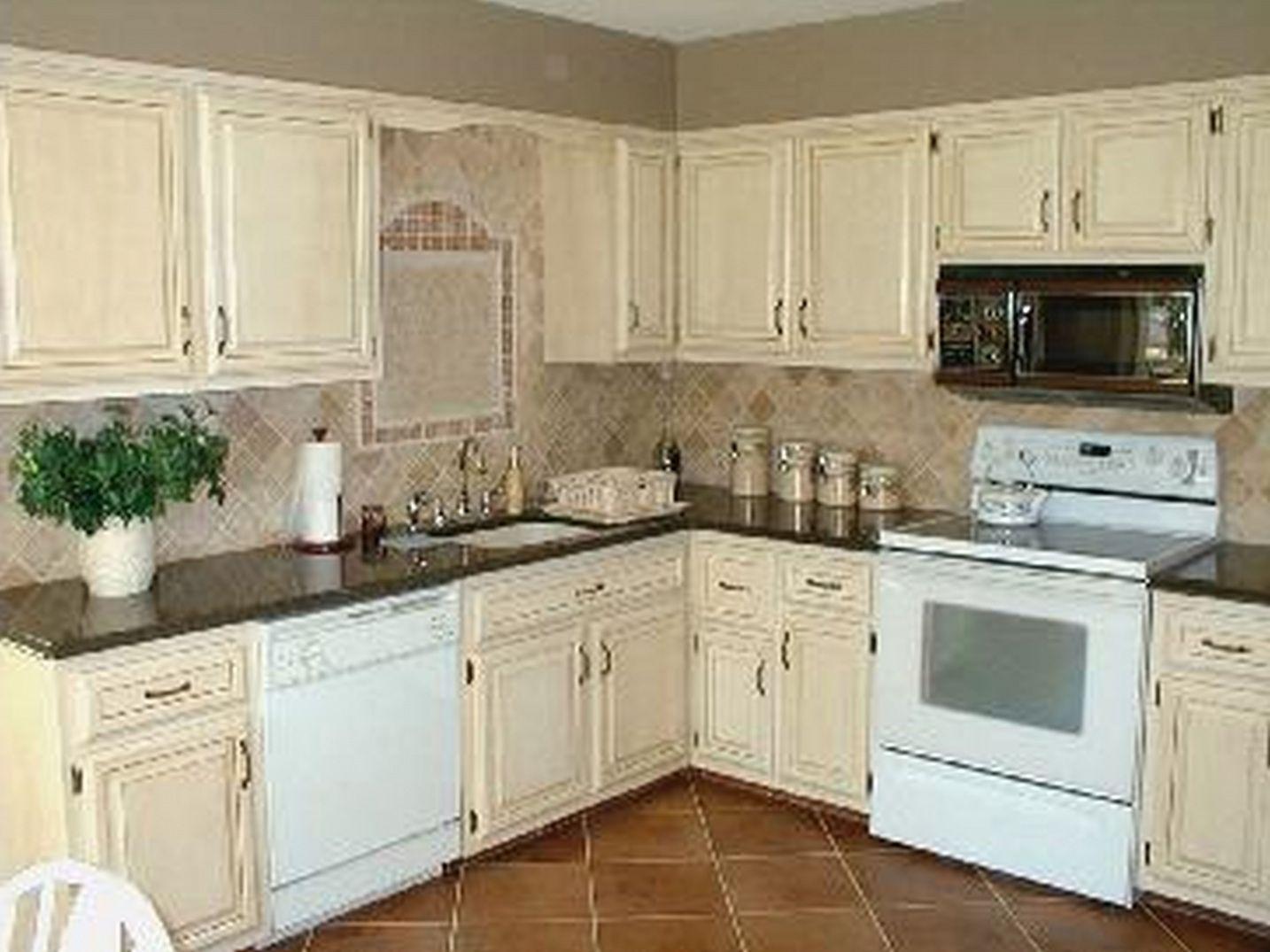 2018 Painting Kitchen Cabinets Antique White - Decorative Kitchen ...