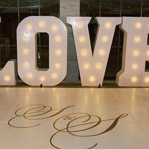 Dance Floor Decal Wedding, Wedding Floor Monogram, Vinyl Floor Decals, Wedding Decor -  DFD0004 #laundrysigns