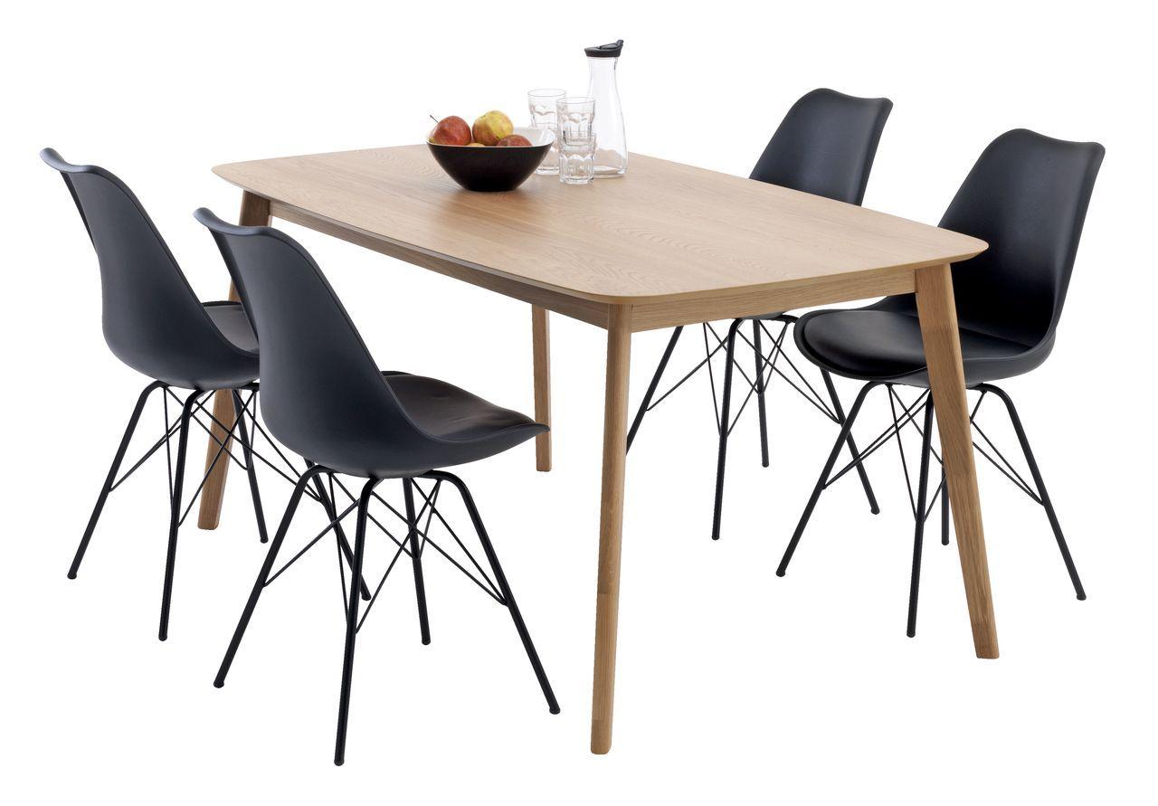 BREDEBRO tafel + KLARUP stoelen | JYSK #JYSK #eetkamer ...