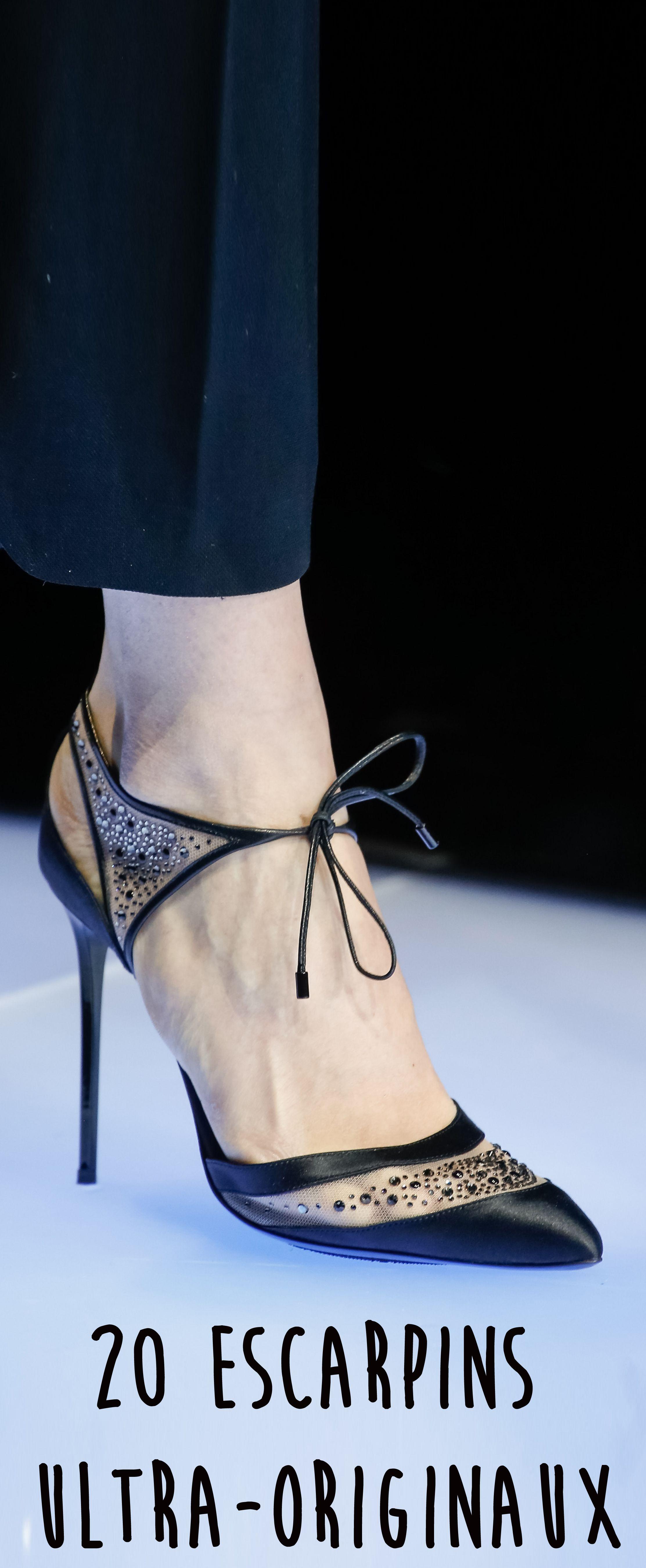 0967d5194359 On troque nos escarpins noirs contre une paire de chaussures originales.