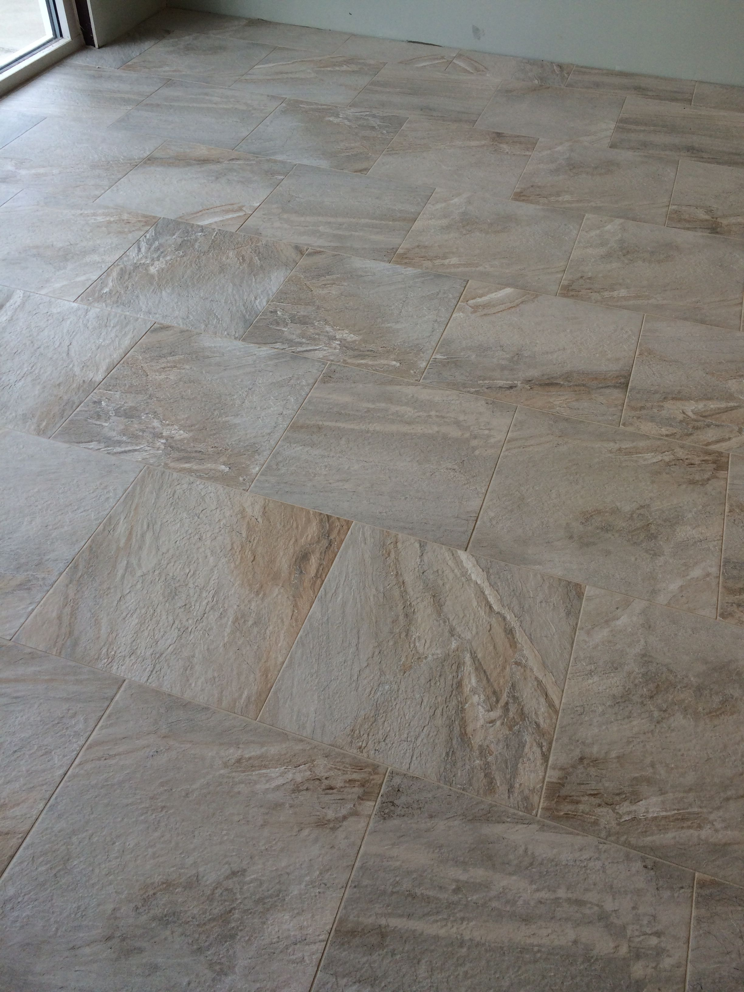 Happy floors fitch cloud 20x20 with custom fusion oyster